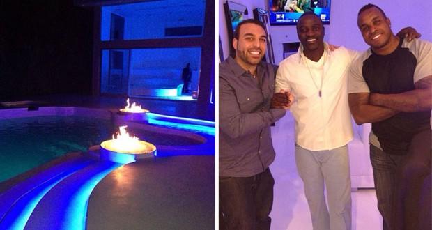 بالصور: Akon أصبح جار Tarik Freitekh ومشاريع عالمية قيد التحضير