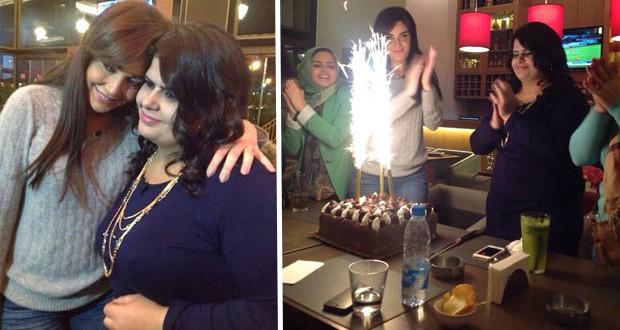 بالصور: سيرين عبد النور إحتفلت بعيد ميلاد المسؤولة عن نادي معجبيها وجمعت عشاقها بتواضعها ومحبّتها