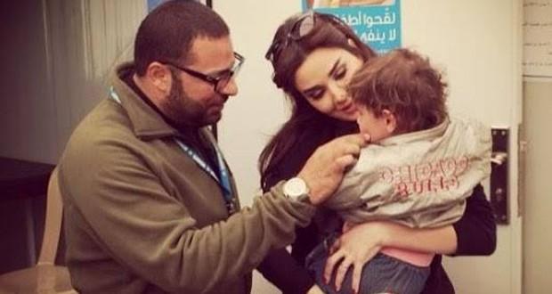 سيرين عبد النور زارت المفوضية السامية للأمم المتحدة لشؤون اللاجئين وبإنسانيتها زرعت الأمل