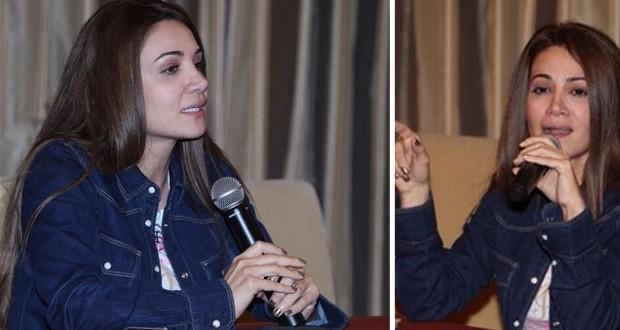 """بالصور: ديانا حداد في تمرينات حفلها في سوق واقف، وتستعدّ لـ """"هلا فبراير"""""""