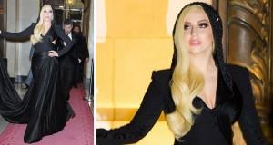 بالصور: Lady Gaga سفيرة Versace تتألّق في أسبوع الموضة في باريس