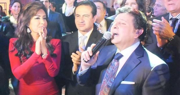 بالصور: هاني شاكر إحتفل بخطوبة إبنه بحضور عدد من النجوم