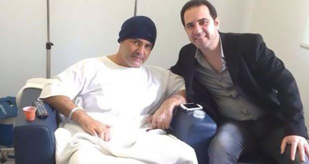 بالصور: وائل جسار زار عاصي الحلاني في المستشفى، ويحيي حفل عيد الحب في أبو ظبي