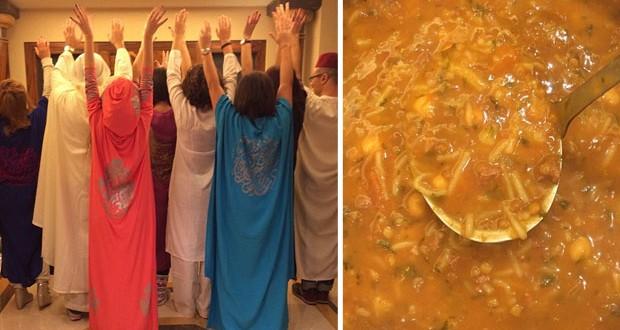 بالصور: ميريام فارس جمعت العائلة والأصدقاء في ليلة مغربيّة مميّزة