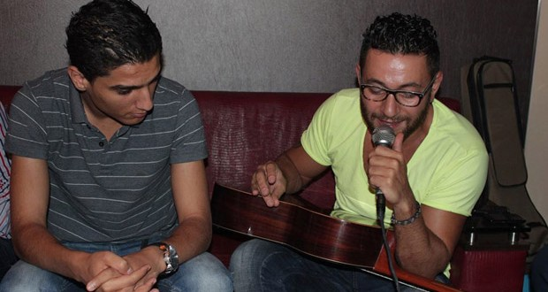 بالصور: محمد عساف يسجّل أولى أغنيات الألبوم، ويتعاون مع زياد برجي