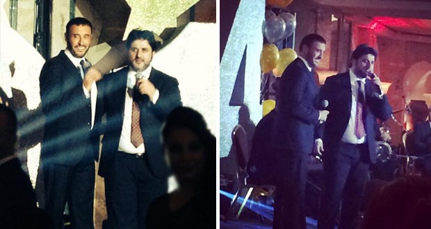 بالصور: القيصر كاظم الساهر أطرب الحاضرين في سهرة من العمر وأشعل المسرح ليلة رأس السنة