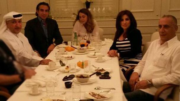 بالصورة: نجوى كرم في دبي وهؤلاء النجوم معها لهذا السبب