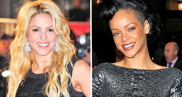 بالصور: Shakira  و Rihanna في عمل مشترك قريباً