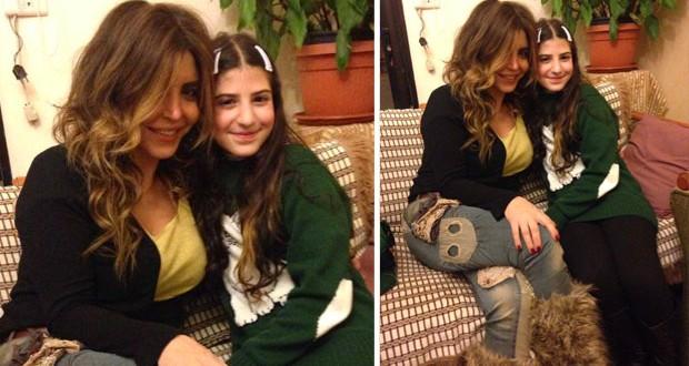 بالصورة: ريما نجيم زارت الطفلة لاريسا، إطمأنّت على صحّتها وهذا ما قالته