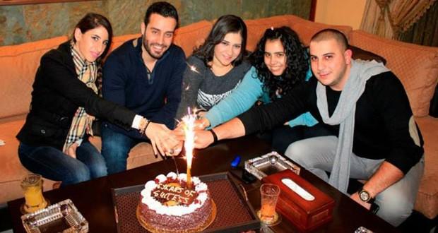 بالصورة: سعد رمضان إحتفل بـ 6 سنوات على دخوله عالم الغناء