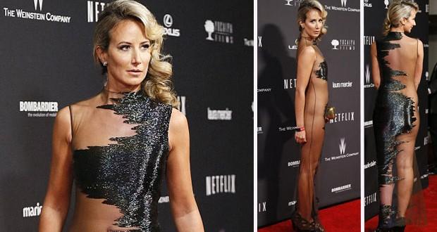 بالصورة: Victoria Hervey صاحبة اسوأ فستان في الـ Golden Globes 2014