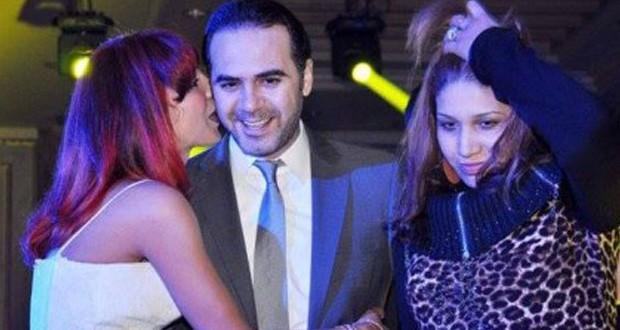 بالصورة: وائل جسار تلقّى قبلة جنونيّة من معجبة