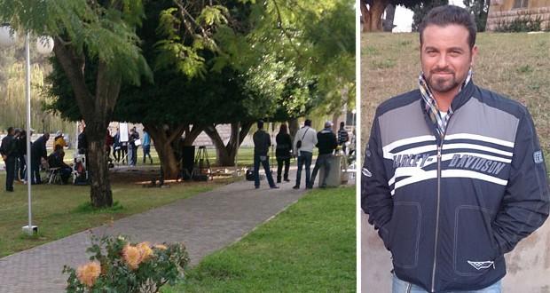 """خاص بالصور: يوسف الخال وأسرة مسلسل """"لَوْ"""" في جامعة الشرق الأوسط في بيروت"""