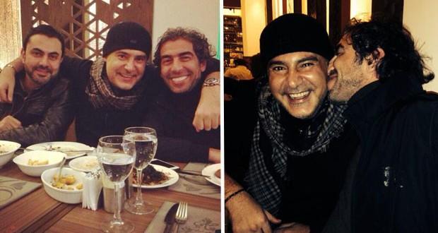 بالصور: عاصي الحلاني بين سعيد الماروق ومحمد كريم