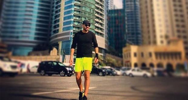 بالصورة: جوزيف عطيّة في إجازة في دبي قبل المباشرة بالعمل