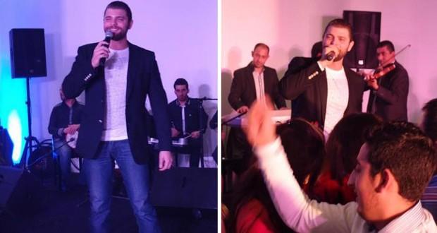 بالصور: ميشال قزي أحيا عيد الحب في لبنان وفتاة عانقته بحرارة وبكت