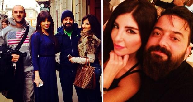 """بالصور: ميشال وكوليت زيتون في شوارع ميلانو ومع سيرين عبد النور في """"بلاد حدود"""""""