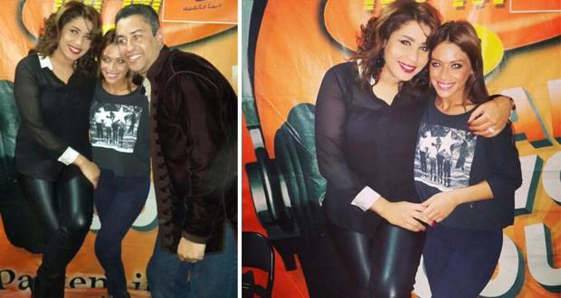 بالصور: هدى سعد برفقة سكينة بقريس وعلاقة طيّبة تجمع بينهما