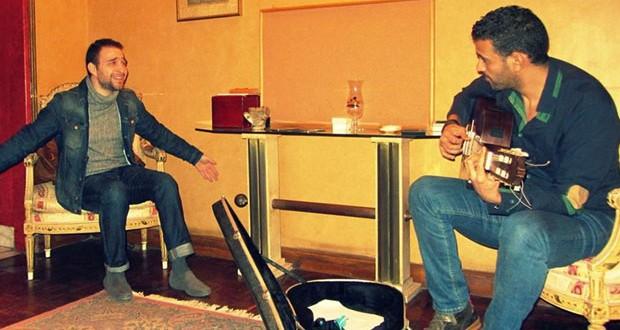 بالصورة: حسام حبيب يحضّر آخر أغنيات ألبومه الجديد