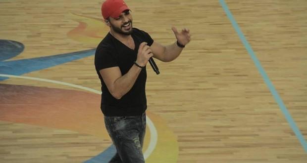 بالصور: جوزيف عطية إفتتح بطولة لبنان لكرة السلة وأشعل الملعب
