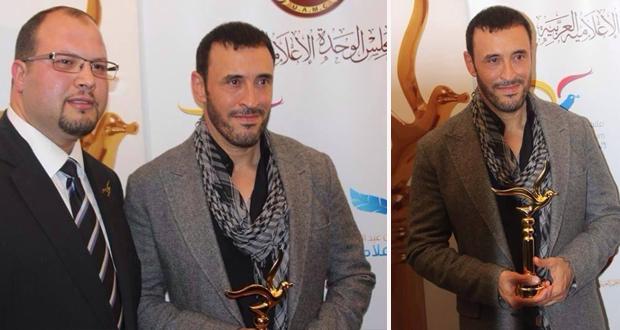 بالفيديو والصور: الموسيقار كاظم الساهر سفير الفنانين الشباب العرب