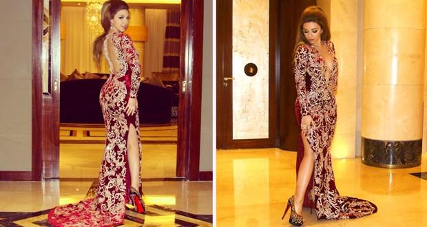بالصور: ميريام فارس تألّقت بحفل زفاف في الدوحة ولفتت الأنظار بمجوهراتها