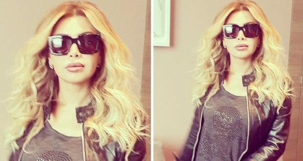 بالصورة: نوال الزغبي منهمكة بأغنيات ألبومها الجديد