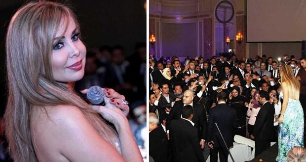 """بالصور: رولا سعد أحيت حفل جماهيريّ في القاهرة وتستعد لإطلاق """"دق الخشب"""""""