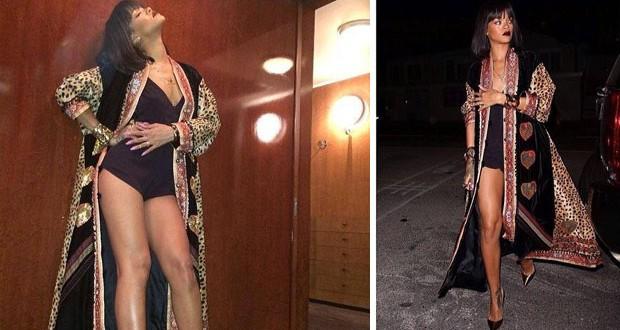 بالصور: Rihanna تستعد لعيد ميلادها بطريقة مثيرة