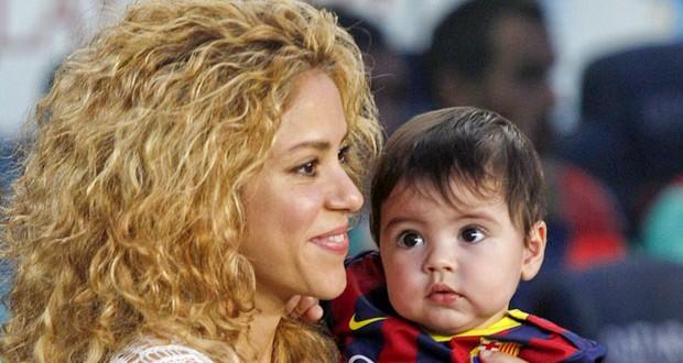 Shakira قلقة علي إبنها بسبب حبّه للرقص