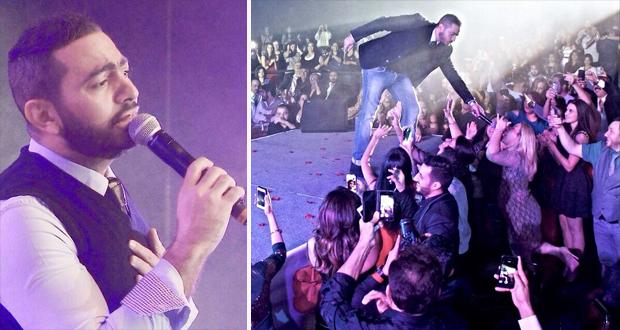 تامر حسني أشعل لاس فيغاس بحضور جماهيري عربي وأجنبي فاق كل التوقعات