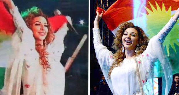 بالفيديو: ميريام فارس أحيت أقوى حفلات كردستان وأشعلت الجمهور بأغنية باللهجة الكردية