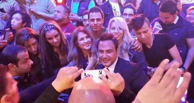 خاص بالصور: عاصي الحلاني أشعل الجمهور والأمن تدخل