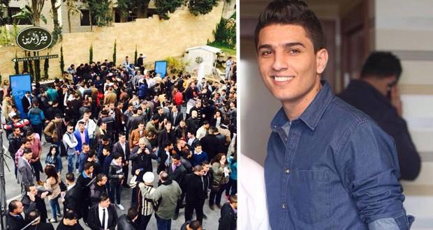 بالصور: محمد عساف يفي بوعده ويدعم المشتركين الفلسطينيين في تجارب أداء أراب آيدول