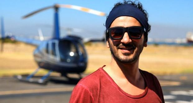 بالصور: أحمد حلمي في جنوب أفريقيا يحضر لعمل جديد