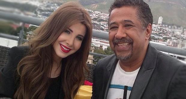 بالصورة: نانسي عجرم والشاب خالد في كواليس تصوير أغنية كأس العالم