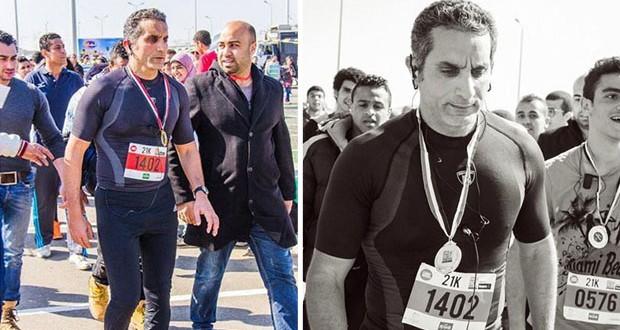 بالصور والفيديو: باسم يوسف يشارك في دعم وتنشيط السياحة في مصر