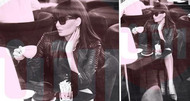 بالصورة: سيرين عبد النور ضيفة شرف أسبوع الموضة في دبي