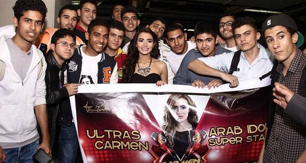 بالصور: كارمن سليمان تُطلق ألبومها الجديد وسط جمهورها في مصر