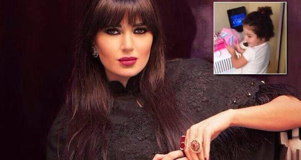 بالفيديو: سيرين عبد النور تنشر فيديو لإبنتها تاليا وهي ترقص وتغنّي