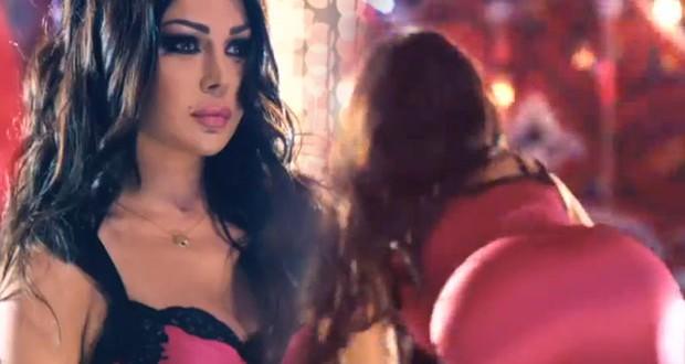 بالفيديو: هيفاء وهبي راقصة مثيرة تغري الرجال