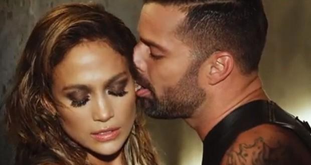 بالفيديو: مشاهد حميمة بين Ricky Martin و Jennifer Lopez
