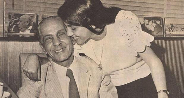 بالصورة: بهذه الكلمات توجهت السيدة ماجدة إلى والدها حليم الرومي