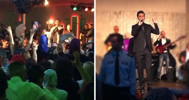 بالصور والفيديو: محمد عساف أحيا أقوى حفلات الدنمارك وسط مظاهرة جماهيرية