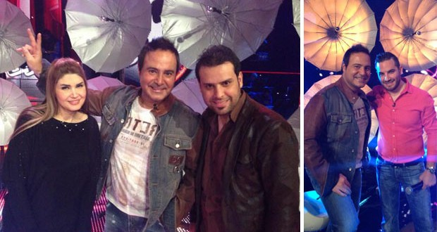 """بالصوت: عاصي الحلاني يقدّم أغنية إنسانية وفي الكواليس مع فريقه في """"The Voice"""""""