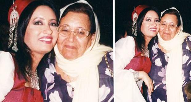 بالصورة: لطيفة تعايد والدتها وكلّ الأمّهات في عيدهنّ