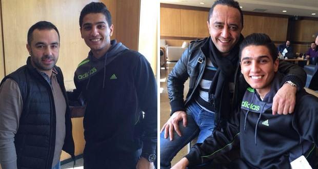 بالصور: محمد عساف إلتقى بـ علي الديك ومروان الشامي في المطار