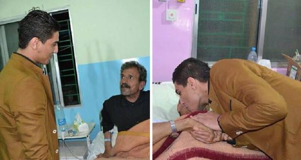 بالصور: محمد عساف غمر مستشفى بلسم في مخيم الرشيدية بإنسانيته ٤٤٢
