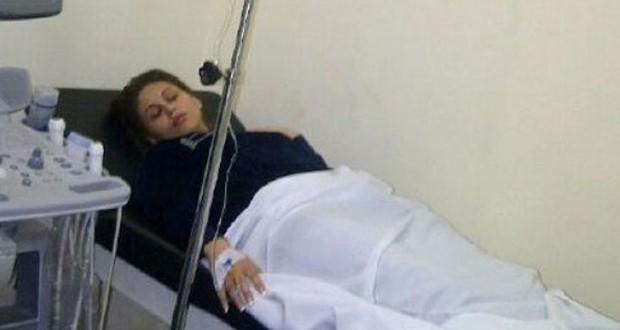 بالصورة: مي سليم تدخل المستشفى بعد فقدانها الوعي