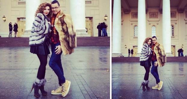 بالصورة: ميريام فارس تتسوّق مع رامي قاضي في موسكو